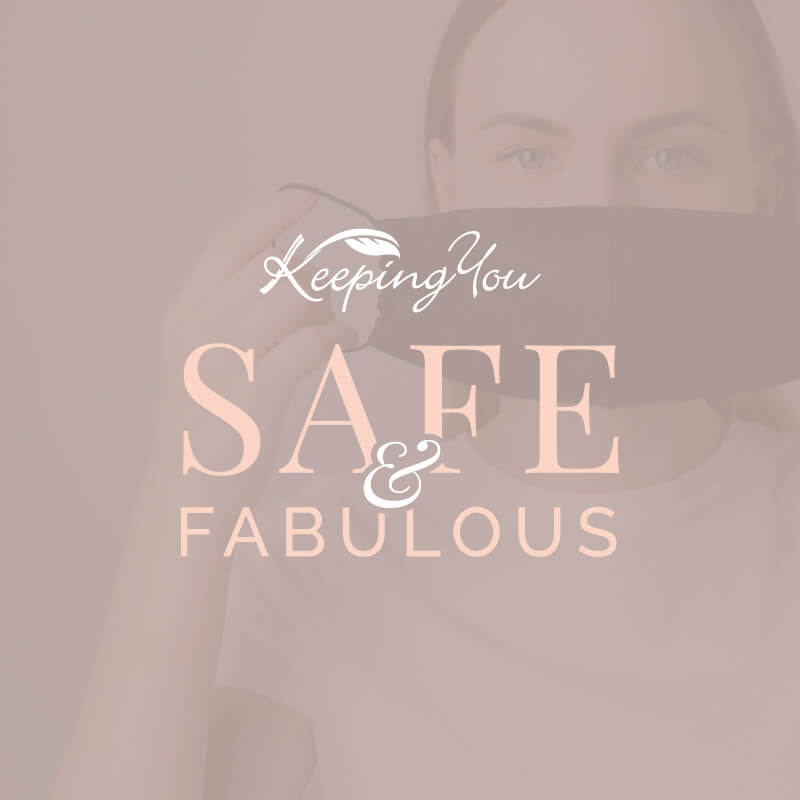 KEEPING YOU SAFE & FABULOUS GRAPHIC BANNER